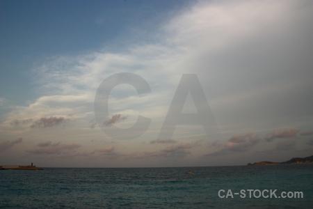 Europe water sea spain cloud.