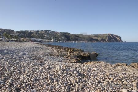 Europe water sea spain stone.