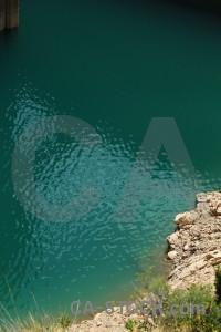 Europe water spain green dam.
