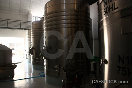Factory cylinder cafayate metal south america.
