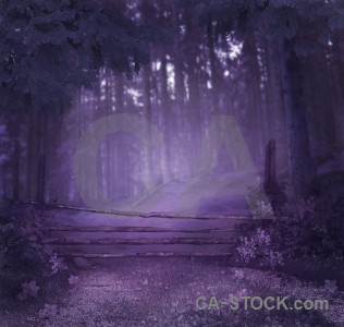 Fantasy purple backgrounds premade.