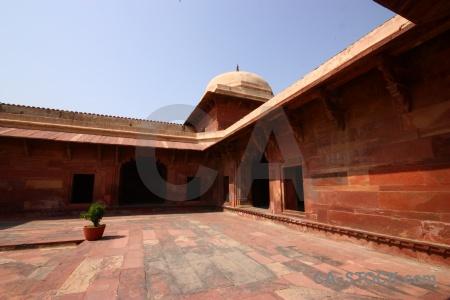Fatehpur sikri fort building mughal asia.