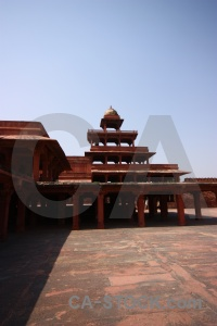 Fatehpur sikri unesco south asia archway fort.