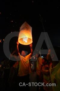 Festival full moon thailand bangkok lantern.