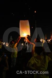 Festival loi krathong lantern southeast asia flame.