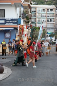 Fiesta christian moors building costume.