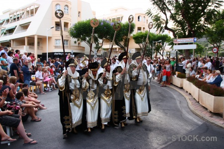 Fiesta christian person costume javea.