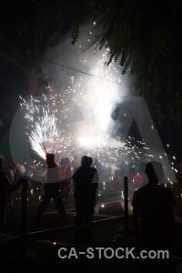 Fiesta correfocs javea europe firework.