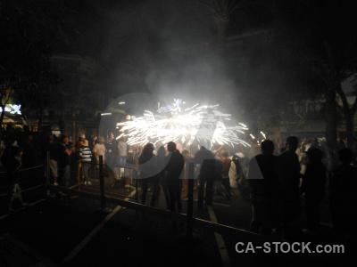 Fiesta correfocs person firework javea.