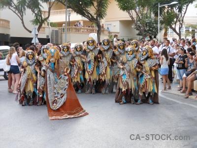 Fiesta javea christian road costume.