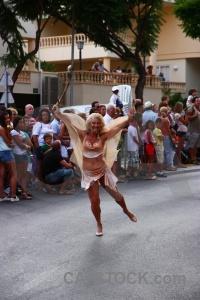 Fiesta moors person costume christian.