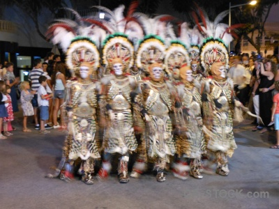 Fiesta person moors costume christian.