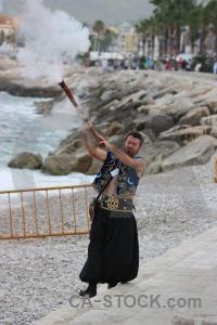 Fiesta spain musket sea stone.