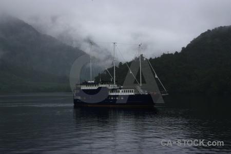 Fiord cloud sky doubtful sound vehicle.