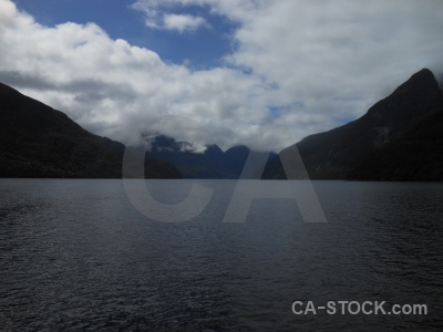 Fiordland fiord sound south island new zealand.