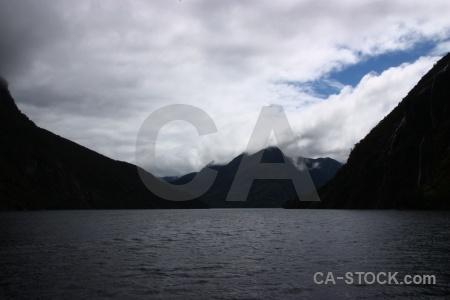 Fiordland south island sky sound cloud.