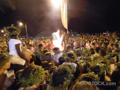 Fire fiesta javea person flame.