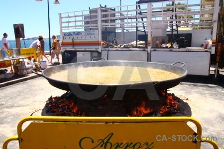 Fire pan ember giant javea.