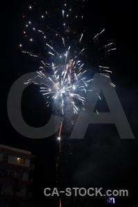 Firework black fiesta spain correfocs.