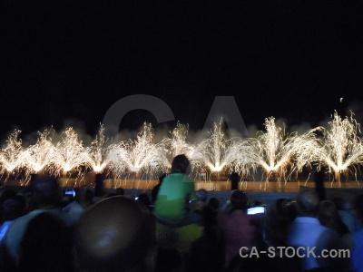 Firework black spain sky javea.