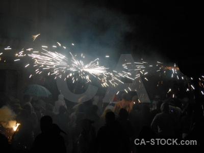 Firework fiesta javea correfocs building.