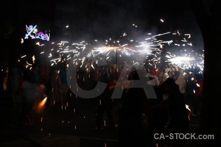 Firework javea correfocs europe black.