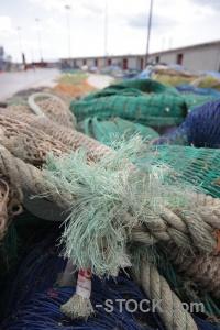 Fishing net spain javea rope.