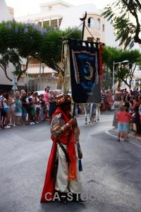 Flag moors fiesta christian javea.