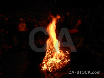 Flame fiesta javea person fire.
