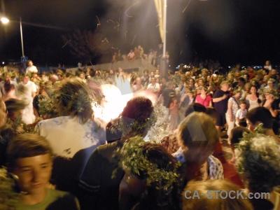 Flame javea person fire fiesta.