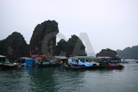 Floating asia sky ha long bay unesco.