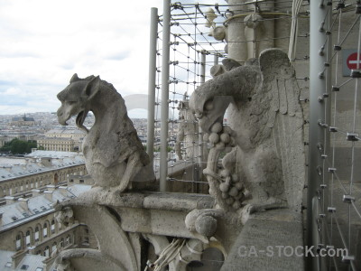 France gargoyle paris statue europe.