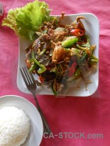 Fried siem reap plate southeast asia rice.