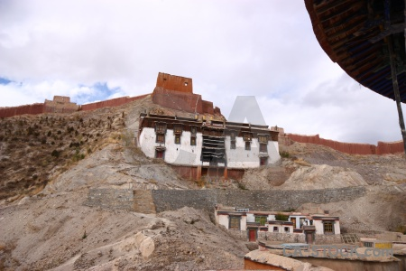 Friendship highway gyantse building east asia altitude.