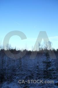 Frost blue cyan europe karlskrona.
