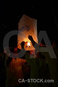 Full moon festival bangkok flame southeast asia loi krathong.