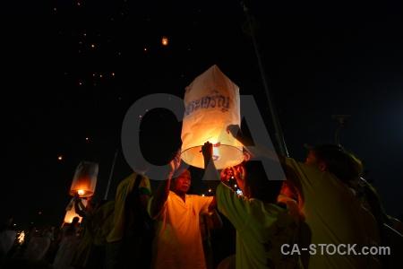 Full moon festival flame asia thailand southeast.
