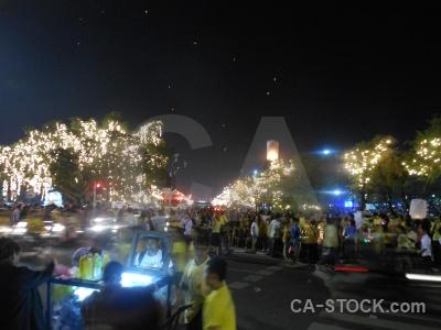 Full moon festival loi krathong thailand lantern southeast asia.