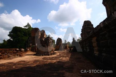 Fungus block southeast asia temple lichen.