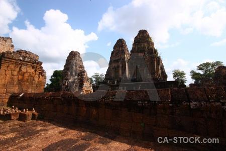 Fungus siem reap stone block cambodia.