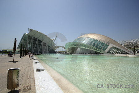 Futuristic art design spain europe.