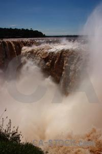 Garganta del diablo iguazu falls river iguassu sky.