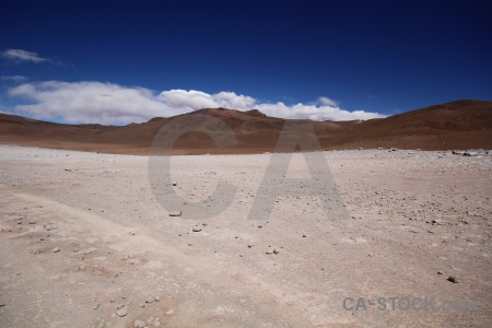 Geiser sol de manana sky andes landscape rock.