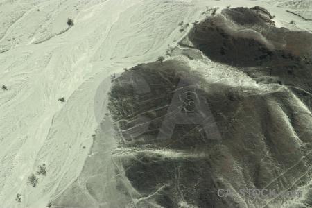 Geoglyph aerial astronaut flying nazca.