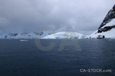 Glacier antarctica cruise cloud mountain snow.