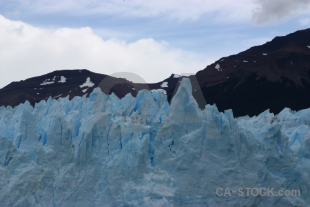 Glacier argentina south america perito moreno cloud.
