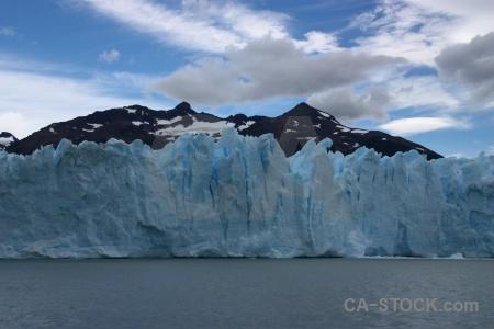 Glacier argentina terminus sky lago argentino.
