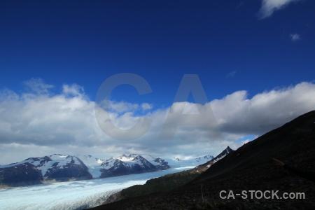 Glacier glacier grey john garner pass torres del paine circuit trek.