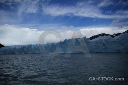 Glacier lake argentino argentina patagonia.