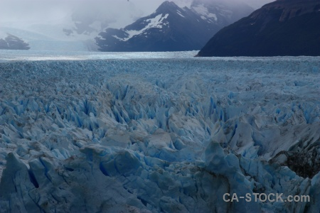 Glacier mountain argentina south america terminus.